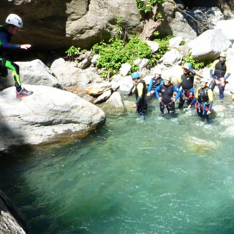 Initiation et découverte du canyoning