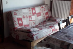Coin séjour avec canapé