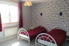 chambre n°2 avec 2 lits simples